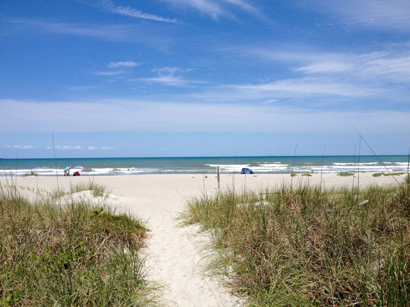 Beach Cape Canaveral Florida